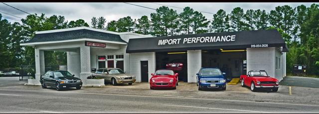 Import Performance - 5618 Hillsborough St Raleigh NC  - Auto repairs and service for Audi-BMW-Mercedes-Volvo-Volkswagen-Saab-Subaru-Toyota-Honda-Nissan