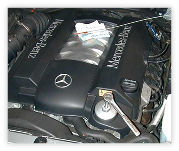 Import Performance - Mercedes oil service